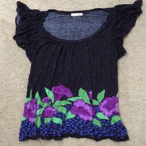 Butterfly Sleeve Shirt